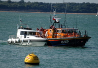 RNLB Alexander Coutanche 47-039 Tyne Class off Cowes Isle of Wight