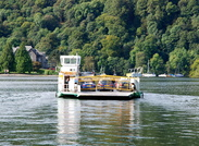 Mallard Chain Ferry at Windermere