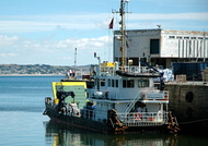 Terramare 1 Dive Vessel at Penzance