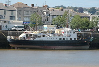 MV Oldenburg at Bideford