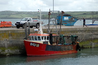 IH 318 Amber Mist at Padstow
