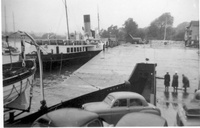 Paddle Steamer Freshwater at Lymington