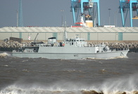 HMS Ramsey M110 Sandown Class Minesweeper
