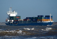 City of Oporto    IMO 9143972  6362gt Built 1998 Container Ship Flag UK