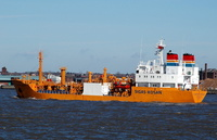 Laurits Kosan    IMO 8026385 2252gt Built 1983 LPG Tanker Flag UK