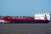 Gerd Knutsen    IMO 9041057  79244gt Built 1996 Crude Oil Tanker Flag UK