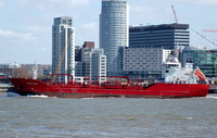 Sundstraum    IMO 8920567 3206gt Built 1993 Chemical/Oil Products Tanker Flag Norway
