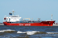 Ginga Jaguar    IMO 9321873 16232gt Built 2005 Chemical/Oil Tanker Flag