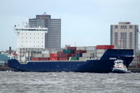 Reinbek IMO 9313199 16324gt Built 2005 Container Ship Flag Germany