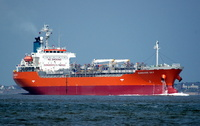 Sunshine Sky   IMO 9146027 9488gt Built 1996 Chemical/Oil Products Tanker Flag Panama