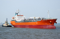 Sunshine Sky IMO 9146027 9488gt Built 1996 Chemical/Oil Products Tanker Flag