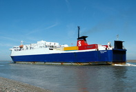 Stena Leader at Fleetwood