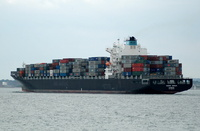 Maersk Durham   IMO 9290426 Built 2005 Container Ship Flag Germany