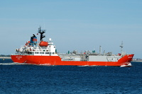 Happy Harrier  IMO 8716514 3595gt Built 1988 LPG Tanker Flag UK