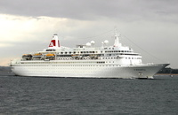 Boudicca  IMO 7218395 28388gt Built 1973 Passenger Cruise Ship Flag Bahamas Fred Olsen Cruise Lines Ltd
