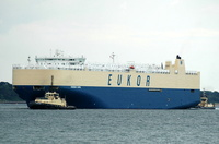 Morning Carol  IMO 9336086 57542gt Built 2008 Vehicles Carrier Flag Panama Eukor Car Carriers Inc