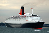 Queen Elizabeth 2 Departs Southampton June 2008