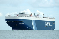 Leo Leader  IMO 9181558 57565gt Built 1999 Vehicles Carrier Flag Panama Nippon Yusen Kaisha
