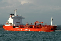Fen  IMO 9359600 Built 2006 Chemical/Oil Products Tanker Flag Singapore