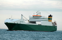 Hurst Point  IMO 9234068 23235gt Built 2002 Ro Ro Cargo Ship Flag UK