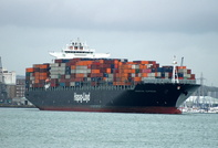 Houston Express  IMO 9294991 94483gt Built 2005 Container Ship Flag Germany Norddeutsche Vermogensanlage