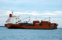 Spuigracht IMO 9202534 16639gt Built 2001 General Cargo Ship Flag Netherlands Spliethoffs Bevrachtingskantoor