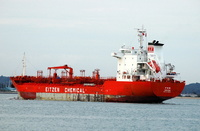 Fen   IMO 9359600 Built 2006 Chemical Tanker Flag Singapore