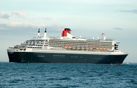 Queen Mary 2  IMO 9241061 148528gt Built 2003 Passeneger Cruise Ship Flag UK Cunard Line Ltd