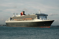 Queen Mary 2  IMO 9241061 148528gt Built 2003 Passeneger Cruise Ship Flag UK