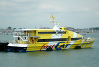 Fastcat Shanklin   IMO 8888513 482gt Built 1996 Portsmouth to Ryde