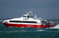 Red Jet 3   IMO 9182758 180gt Built 1998 Southampton to Cowes