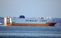Grande Mediterraneo IMO 9138393 51714gt Built 1998 Vehicles Carrier Flag Italy