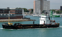 Donald Redford    IMO 7924281 681gt Built 1981 Dredger Flag UK