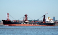 Amsterdam   IMO 8311053 4080gt Built 1985 General Cargo Ship Flag Bahamas