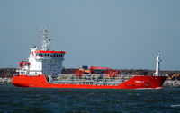 Tugrul S   IMO 9293478 2435gt Built 2004 Chemical/Oil Tanker Flag Turkey