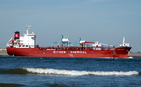 Sichem Copenhagen  IMO 9300776 8448gt Built 2005 Chemical/Oil Tanker Flag Singapore