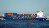 Enforcer   IMO 9255737 7642gt Built 2004 Container Ship Flag Netherlands