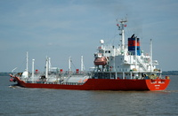Lady Hilde  IMO 9172129 2998gt Built 1998 LPG Tanker Flag Singapore