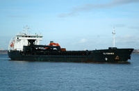 Clydenes    IMO 9101546 4783gt Built 1996 General Cargo Ship Flag Norway