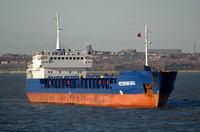 Petersburg    IMO 9188740 2914gt Built 2001 General Cargo Ship Flag Antigua Barbuda