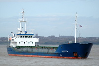 Keret    IMO 9103972 1596gt Built 1994 General Cargo Ship Flag Russia
