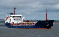 Thames Fisher    IMO 9145011 2760gt Built 1997 Oil Products Tanker Flag UK