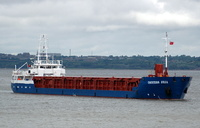 Countess Julia   IMO 9145140 2060gt Built 1996 General Cargo Ship Flag Antigua Barbuda