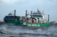 CSCL Napoli at Liverpool