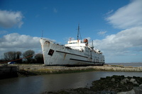 Duke of Lancaster operated on the Heysham Belfast route 1960s/1970s
