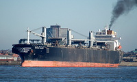 Keoyang Majesty IMO 9131072 43181gt Built 1997 Wood Chips Carrier Flag Panama