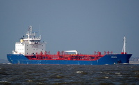 Arianta    IMO 9285445 7456gt Built 2004 Chemical/Oil Products Tanker Flag UK