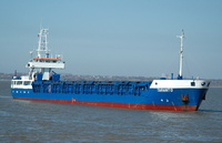 Taranto    IMO 9133513 2061gt Built 1995 General Cargo Ship Flag Antigua Barbuda