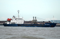 Oana Cristina    IMO 9017800 2598gt Built 1990 General Cargo Ship Flag Romania