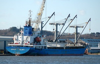 Ocean Glory  IMO 9368625 4123gt Built 2006 General Cargo Ship Flag Malta ex Chang An Glory 22nd January 2007